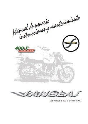 Manual de uso Sanglas 500S 400F